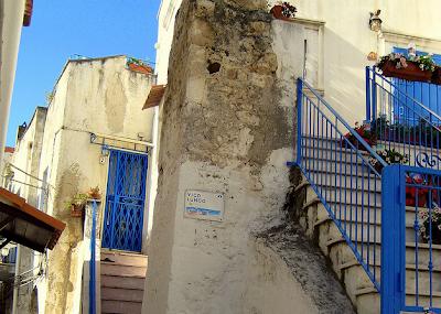 Peschici, centro storico, casette bianche