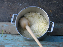 Sauerkraut Being Prepared