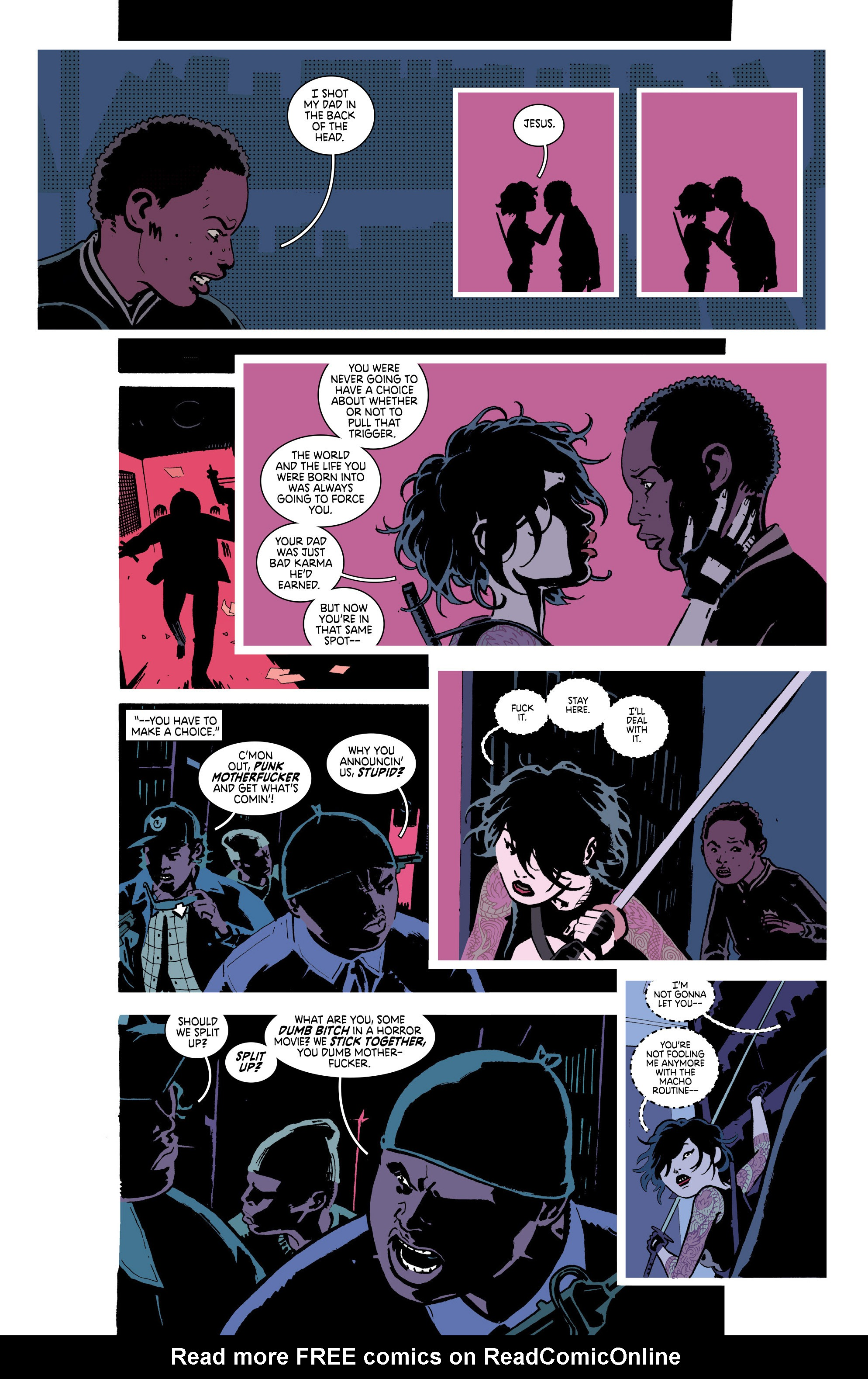 Read online Deadly Class comic -  Issue #18 - 14
