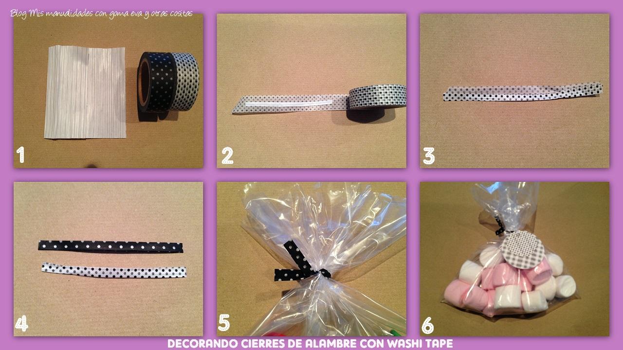 Mis manualidades con goma eva y otras cositas decorando - Como decorar con washi tape ...