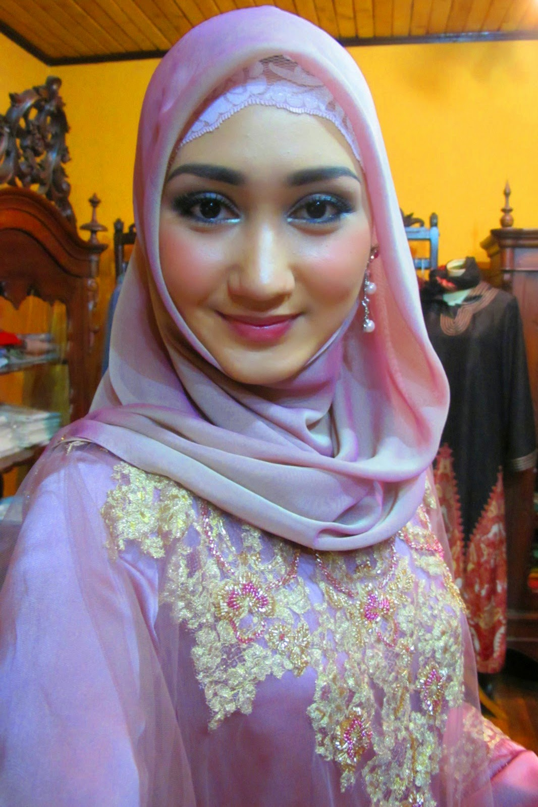 New Hijab 2014 Hijab Wing Dian Pelangi