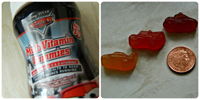 Disney Cars Multivitamin Gummies Vitamins for Kids