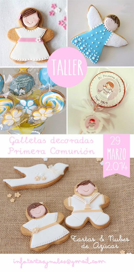 Taller de galletas decoradas para la Primera Comunión en Salamanca