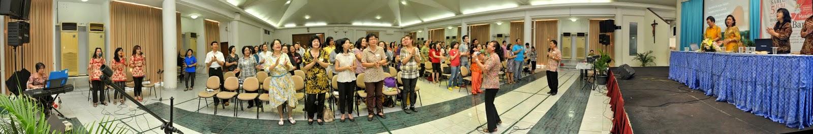 Acara Pesta Nama Lingkungan YOPE - 2014