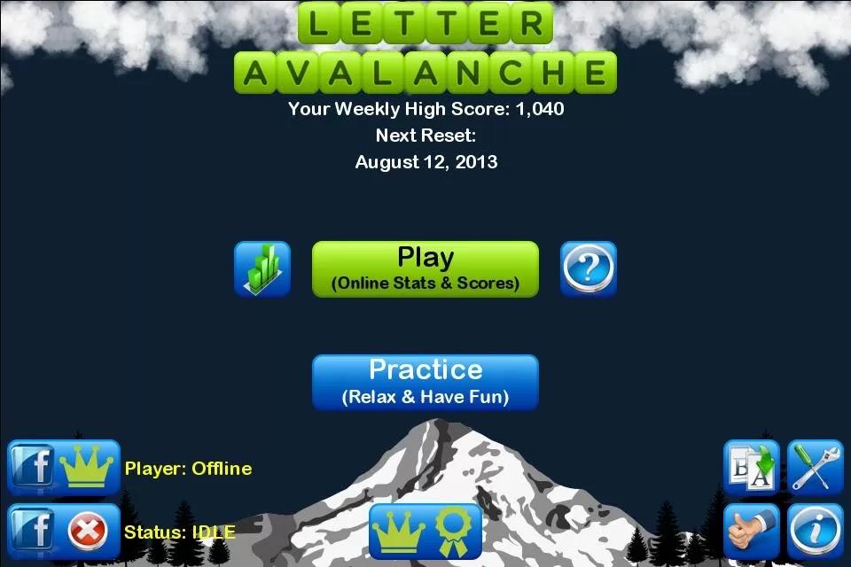 Letter Avalanche v1.1.1