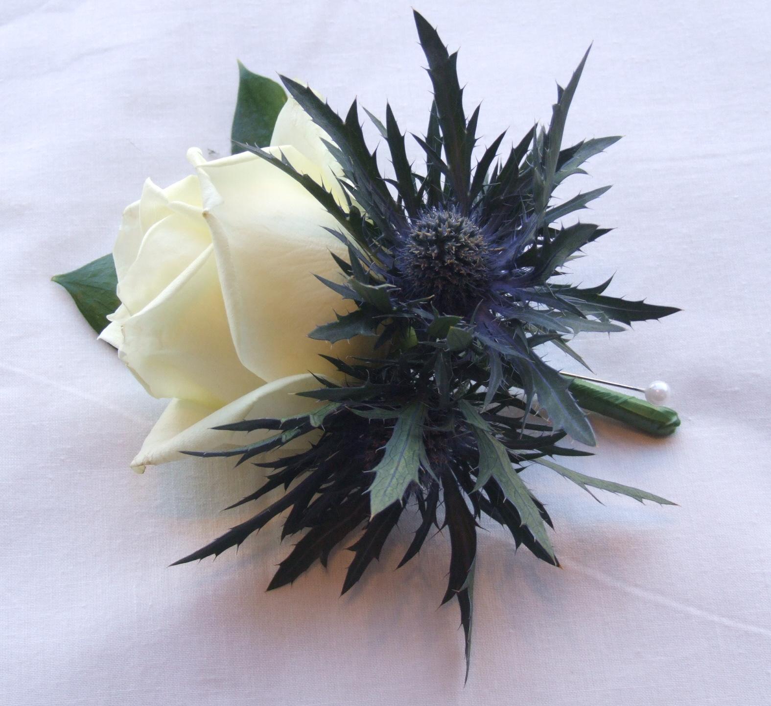 Wedding Bouquets Single Flower : Rj s florist purple lilac and ivory wedding flowers