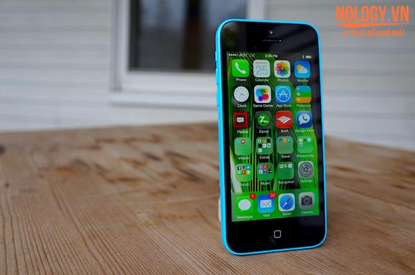 Iphone 5c lock với thiết kế vỏ nhựa độc đáo
