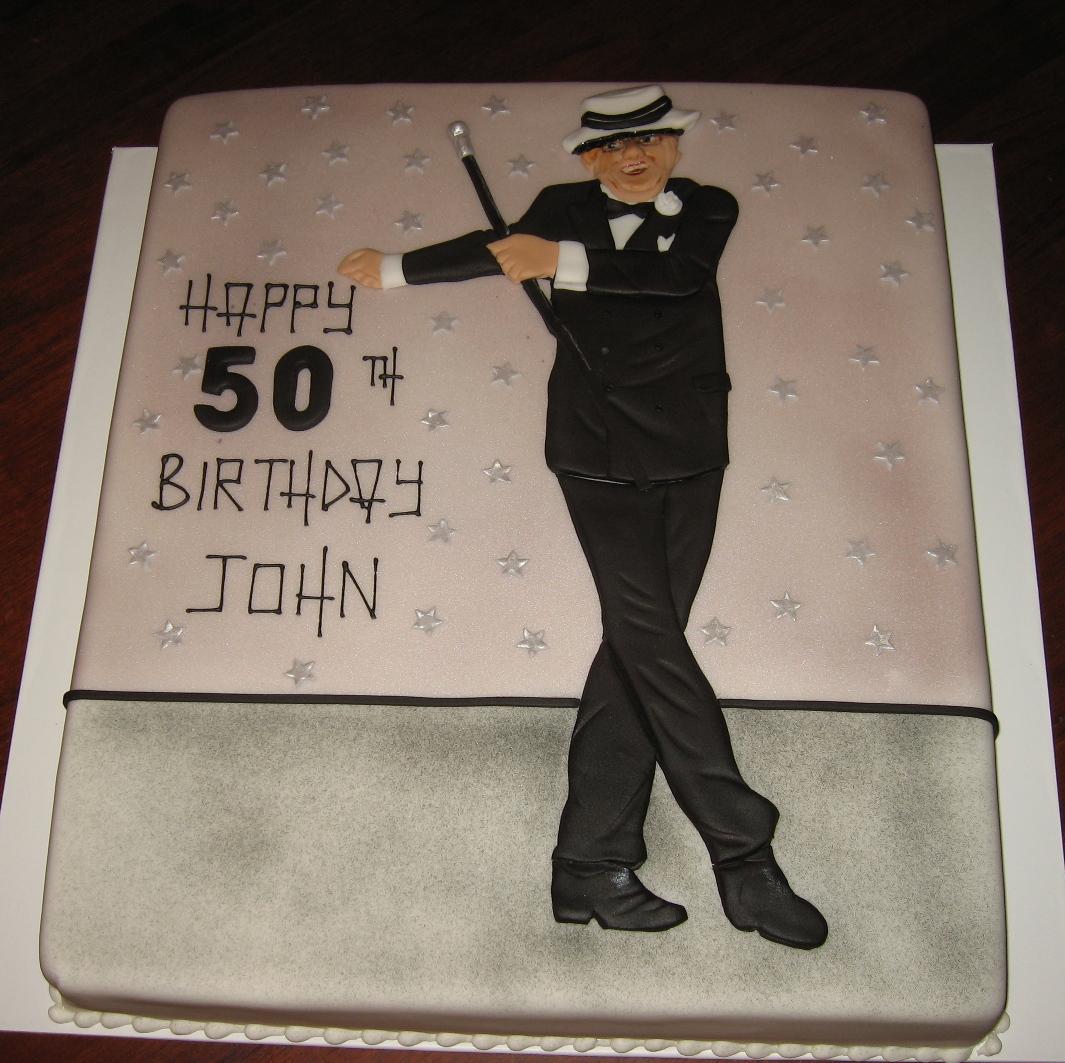 Let Them Eat Cake Frank Sinatra Theme Cake