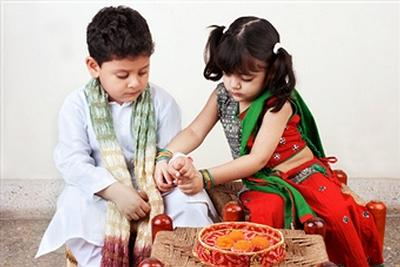 Happy Raksha Bandhan Cartoon Rakhi for Children 2014