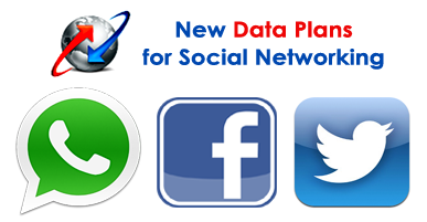 BSNL Data Plans for Facebook, WhatsApp & Twitter in South Zone