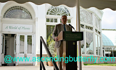 Gregory Long, Chief Executive Officer and The William C. Steere Sr. President of The New York Botanical Garden in the Bronx, New York kicks off the Media Preview of Frida Kahlo: Art, Garden, Life