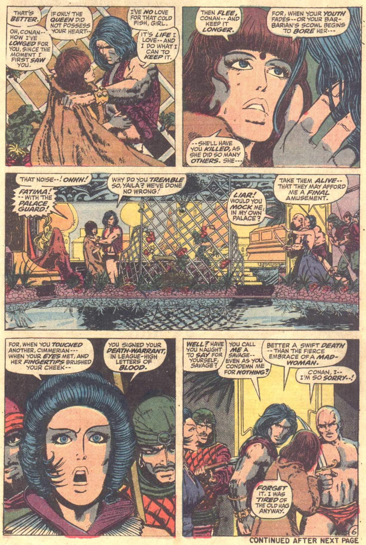 Conan the Barbarian (1970) Issue #12 #24 - English 7