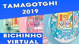 Tamagotchi On 2019  bichinho virtual