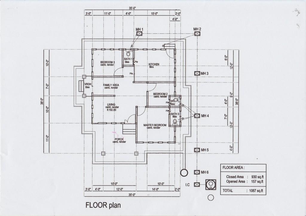 Plan Rumah Sayyidina Uthman - Alor Hijau