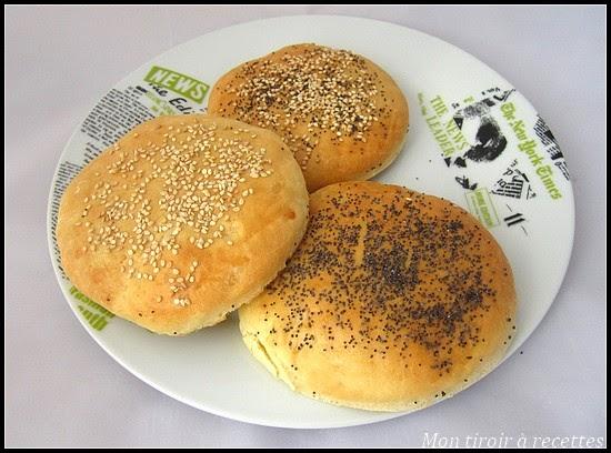 pain à burger style mcdo