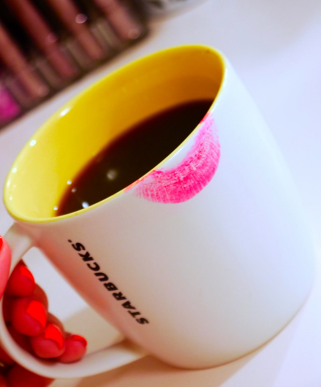 Lipstick and Starbucks