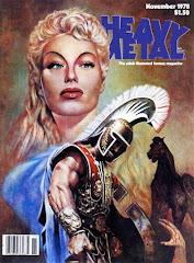 'Heavy Metal' magazine, November 1978