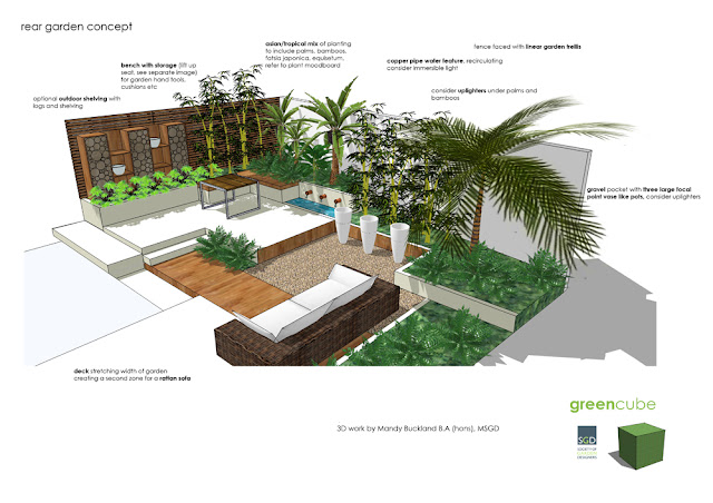 Greencube garden and landscape design uk are you making for Garden design in 3d using sketchup