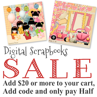 Scrapbook Kit Sale