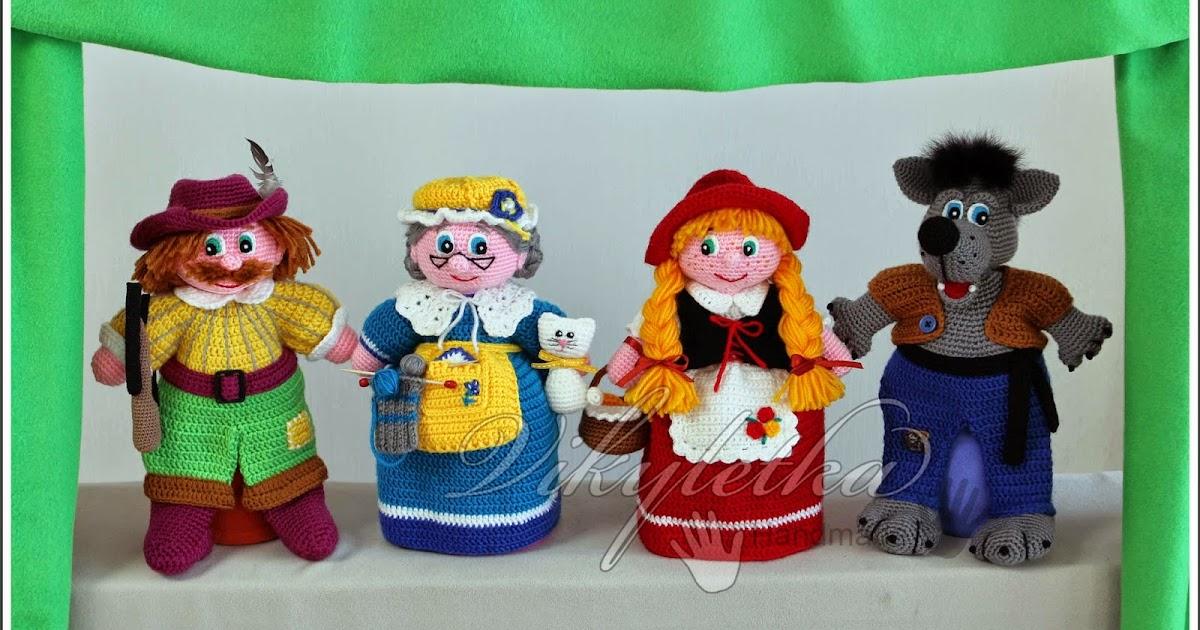 Настольный кукольный театр своими руками: выкройки и описание 6