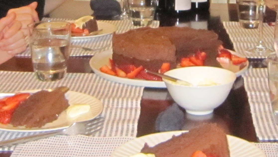 Chocolate Mousse Cake Donna Hay