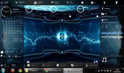 mm Cara Mempercantik Tampilan Desktop Windows 7 Lebih Keren