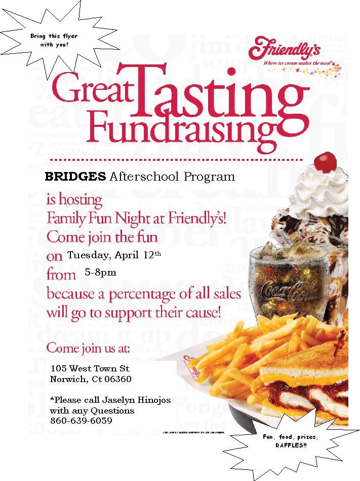 fundraiser template flyer