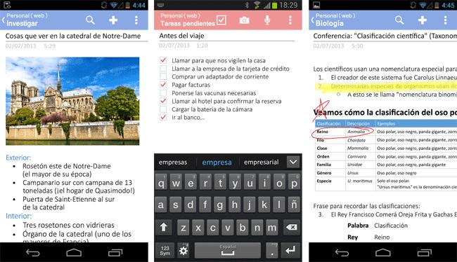 OneNote para Android