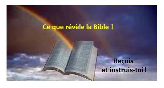 Ce que révèle la Bible !