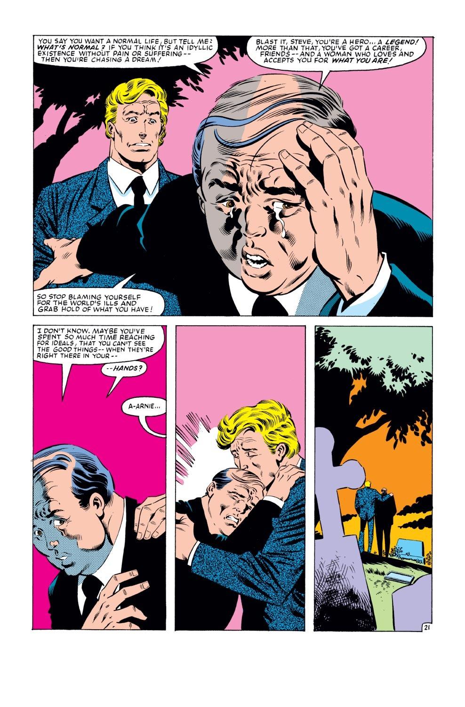 Captain America (1968) Issue #279 #195 - English 22
