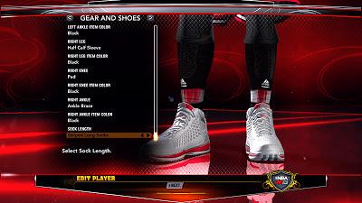 NBA 2K13 Derrick Rose Accessories