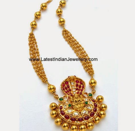 Lakshmi Design gold Haram