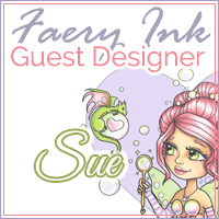 Guest designer for Faery ink