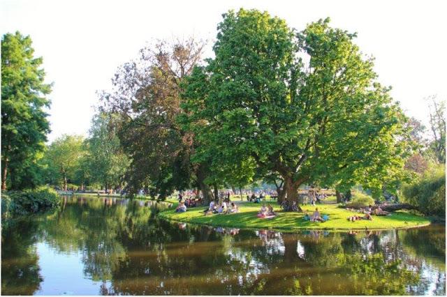 Parque Vondelpark en Amsterdam