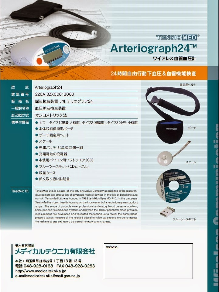Arterial Stiffness measurement