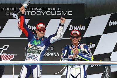 GP Catalunya, Kesempatan Lorenzo Tumbangkan Rossi dari Puncak Klasemen