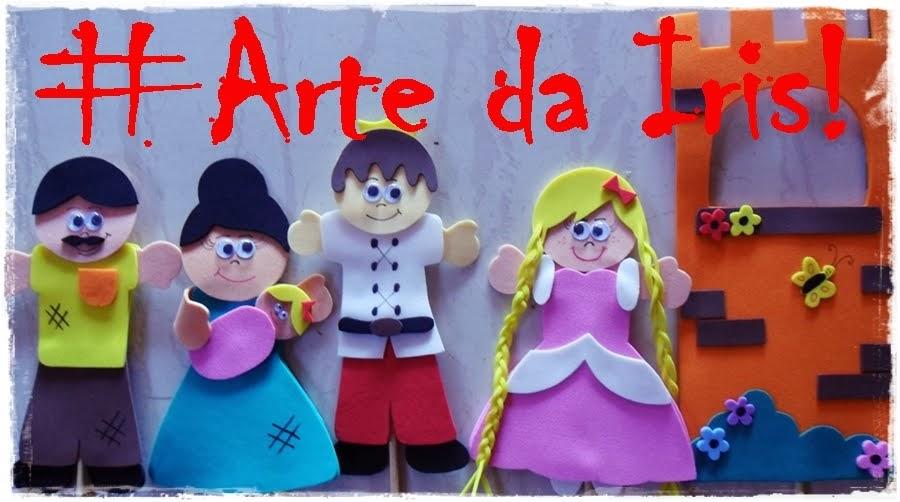 ARTE DA IRIS COM EVA E TNT
