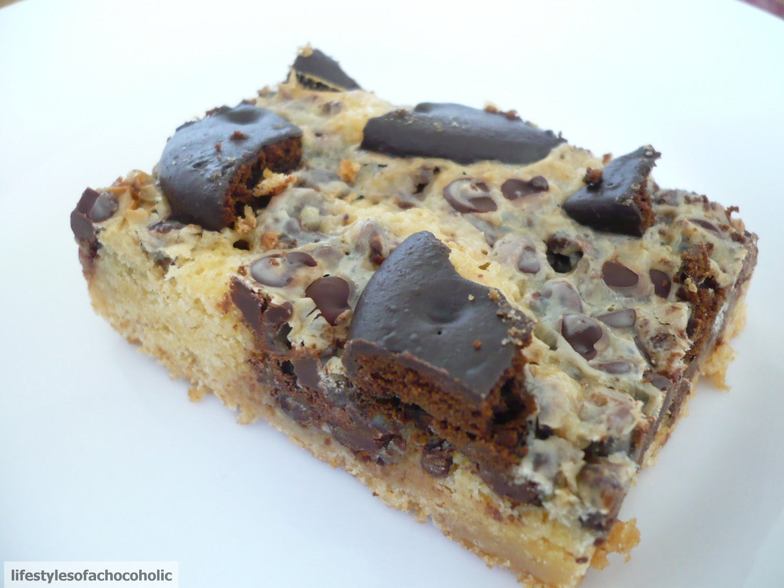 Thin Mint Chocolate Chip Cake Bars Confessions Of A