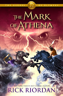 Cubierta de The Mark of Athena