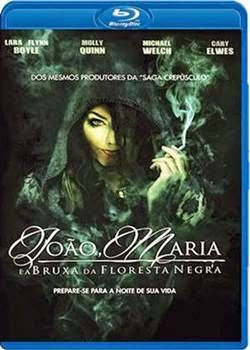 Baixar João e Maria A Bruxa da Floresta Negra BDRip AVI Dublado + Bluray 720p e 1080p Torrent