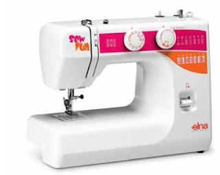 maquina de coser domestica elna 1000FUN