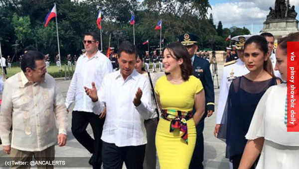 Kris Aquino trends on Twitter for welcoming the Mexican President