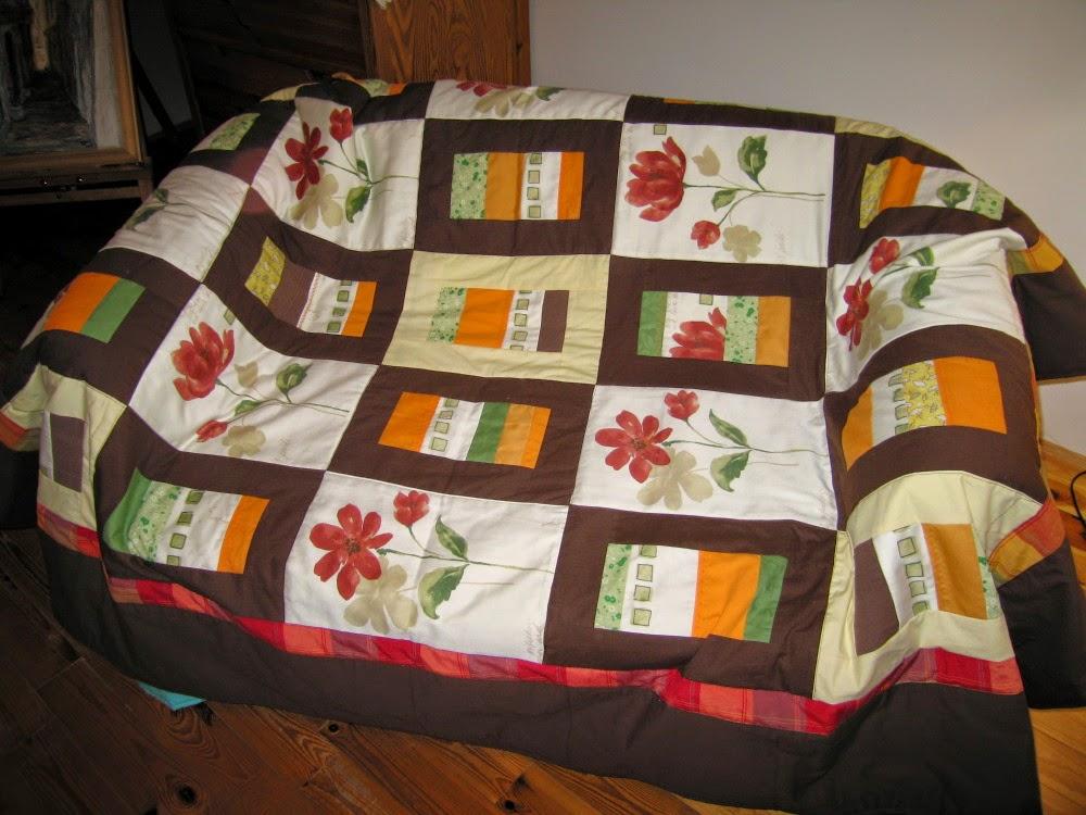 narzuta patchworkowa