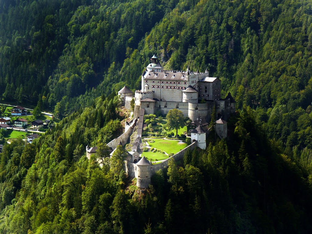Hohenwerfen Castle Tour Austria Europe Beautiful Traveling Places