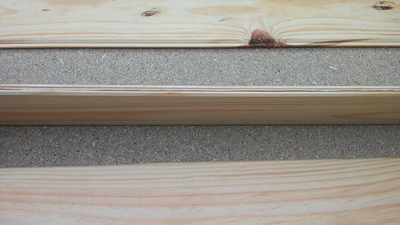 La guarida cabecero de duelas de madera - Duelas de madera ...