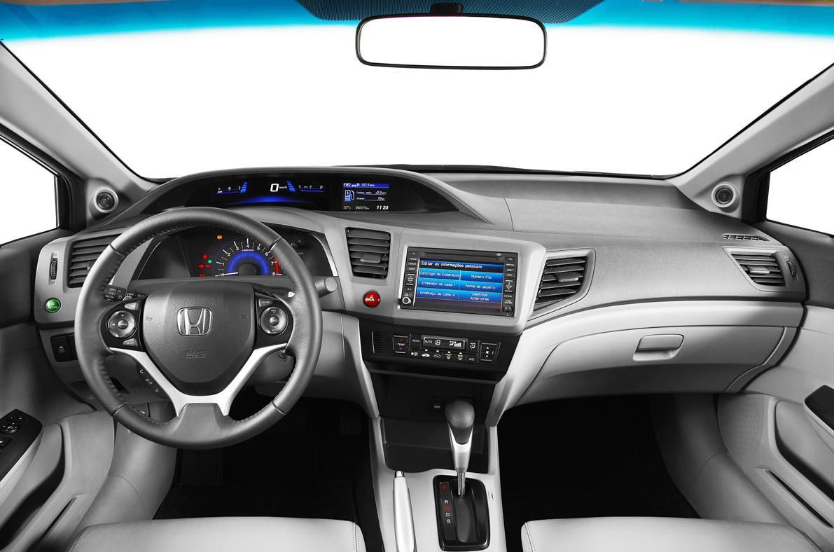 Novo Honda Civic 2.0 2014 EX-R - painel