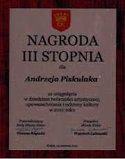 Nagroda Prezydenta Kielc  w dziedzinie kultury za 2010 r.
