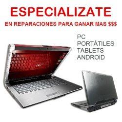 Reparar PC's portátiles y tablets