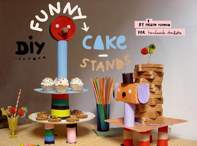Αυτοσχέδιο stand για παιδικό πάρτι
