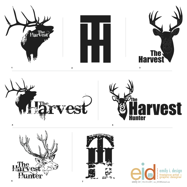 Hunting Logos Designs Logo Design